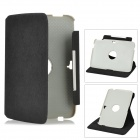 ENKAY ENK-7102 Protective 360 Degree Rotatable PU Leather Case for Google NEXUS 10 - Black + Grey