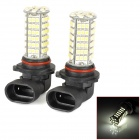 90061510888 9006 5W 450~550lm 102-SMD 3528 LED White Light Car Foglight - (DC 12V)