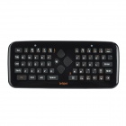 2.4GHz Mini Wireless Fly Air Mouse 61-Key Keyboard w / USB + Nano Receiver - Schwarz