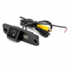 Wired 628 x 586 CMOS HD Car Rearview Camera w/ Clip for Hyundai Elantra / Accent / Sonata - Black