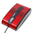 USB+PS2 3D Optical Mouse 800DPI (Red/black)
