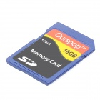 Ourspop DM-24 SD Memory Card - Blue (16GB / Class 6)