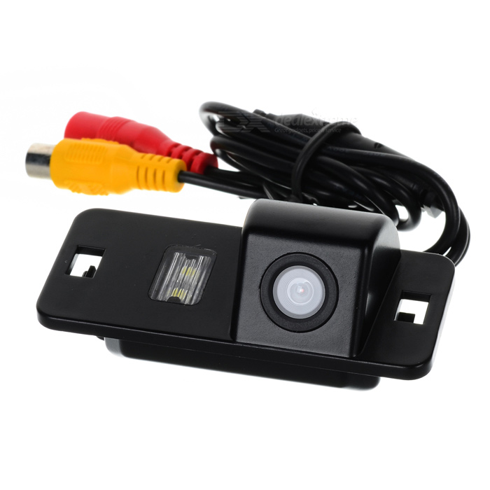 Wired 628 x 586 CMOS HD Car Rearview Camera w/ Clip for BMW 3-Series / 5-Series - Black