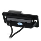 Com fios 628 x 586 CMOS HD carro retrovisor Camera w / Clip para BMW 3-Series / 5-Series - Black