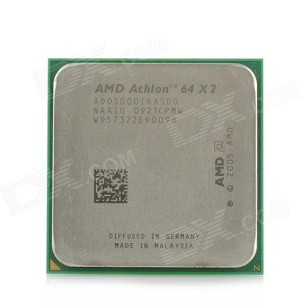 AMD Athlon 64 X2 5000X Brisbane Socket AM2 2.6GHz 62nm 65W Dual-Core Desktop Processor train brisbane