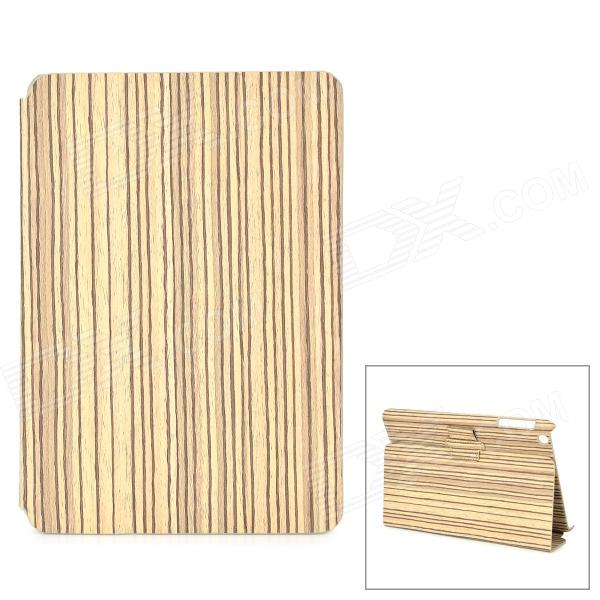 Protective Wood Pattern PU Leather Case for Ipad MINI - Wood