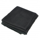 SW2106 Outdoor Polyester Garnished malha Scarf - Black