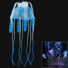 Simulation Floating Small Jellyfish Fish Tank Backdrop Decorations - Blue