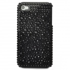 Protective Pearls Style Back Case for Iphone 4 / 4S - Black