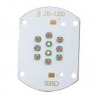 30W 10-Cree-XP-E LED 1000lm Rot + Blau Plant Grow Light Module - White (22 ~ 26V)
