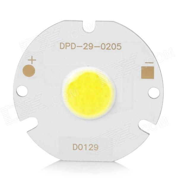 Taiwan Genesis DPD-29-0205 3W 6500K 300lm Round COB LED Module - White (DC 6~7V) water cooling spindle sets 1pcs 0 8kw er11 220v spindle motor and matching 800w inverter inverter and 65mmmount bracket clamp