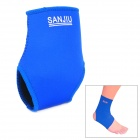 S3120 Neoprene Sport Elastic Ankle Support / Guard Brace Protector - Deep Blue