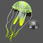 E5YK Emulation Small Jellyfish for Aquarium - Yellow + Transparent