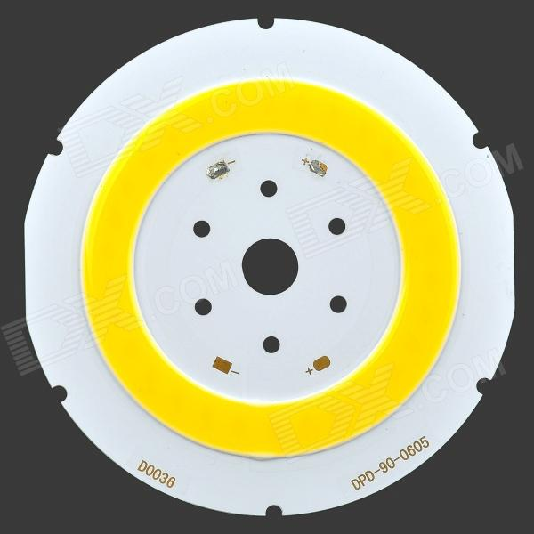 Taiwan Genesis DPD-90-0605 15W 6500K 1500lm Round COB LED Module - White (DC 18~21V) led светильник bao workers in taiwan led