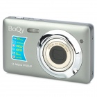 "BOQY CDNN 2.7"" TFT LCD CMOS 5.0MP Digital Camera w/ 3X Optical Zoom - Grey"