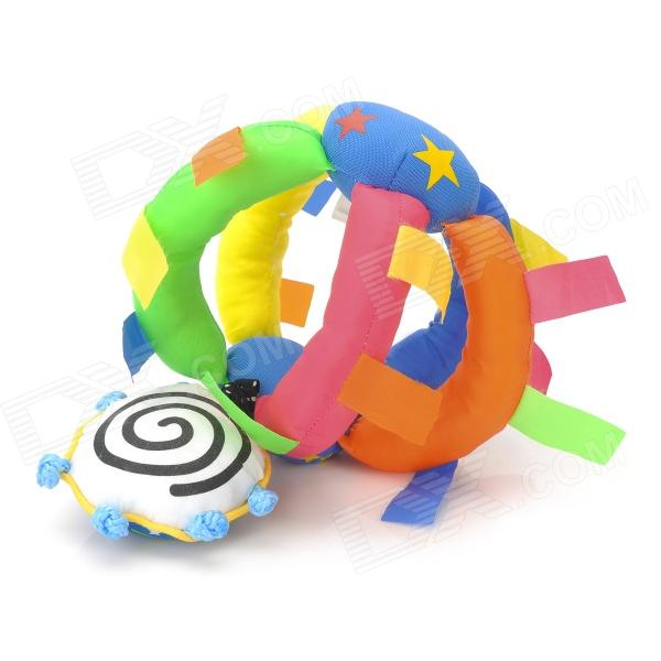 6616 Colorful Baby Bed Hanging Bell Star Ball Toy