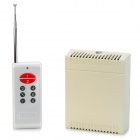 8-Channel Wireless Remote Control Switch - Beige