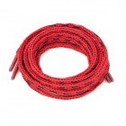 Naturehike Outdoor Lengthened Nylon Mountaineering / Hiking Shoelace - Red (Pair)
