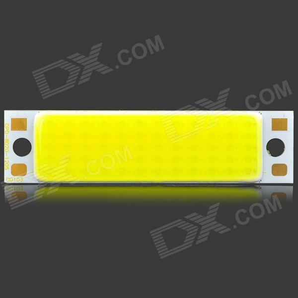 DPD-30W-W-80 30W 6500K 3000lm COB LED White Light Rectangle Strip - Silver + White (DC 36V) black or white rectangle living room bedroom modern led ceiling lights white color square rings study room ceiling lamp fixtures