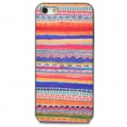 Protective Fashion Stripes Pattern Plastic Back Case for iPhone 5 - Multicolored