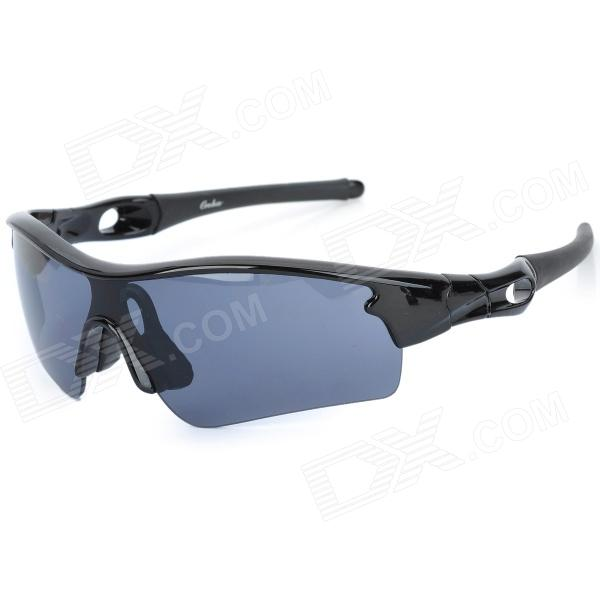 OREKA WG010 Outdoor Sport UV400 Protection Sunglasses Goggle - Black + Grey