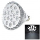 E27 15W 1350lm 6500K 15-LED Cool White Spotlight Bulb - Silver + White (AC 85~245V)