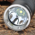 RUSTU R180 800lm 5-Mode White Flashlight w/ Cree XM-L T6 - Black (1 x 18650 / 1 x 26650)