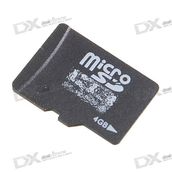 OEM SDHC Class 4 MicroSD/TF Flash Memory Card (4GB)