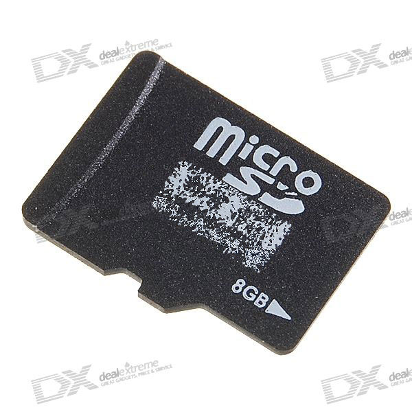 OEM SDHC Class 4 MicroSD/TF Flash Memory Card (8GB)
