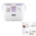 SKG SKG-510 400W Electronic Multi-Function Stainless Steel Food Heated Box - Thistle + White (1.5L)