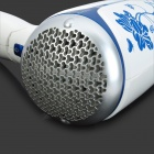 POVOS PH6813 3-Mode 1500W Electric Hair Dryer - White + Blue (2-Flat-Pin Plug / 250V / 170cm-Cable)