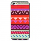Stylish Protective Plastic Hard Back Case for Iphone 5 - Multicolored