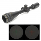 Sniper 4-16X40AOEG R19 Aluminum Alloy Red / Green Light Glass Mil-dot Rifle Locking Scope - Black