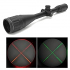 Leapers 6-24*50AOE Aluminum Alloy RGB Light Mil-dot Rifle Scope / Gun Aiming Sight - Black