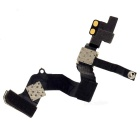 Replacement Proximity Light Sensor Flex Ribbon Cable + Front Camera Module for Iphone 5 - Black