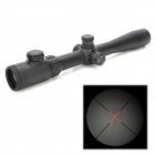 ZOS 4-16*40E-SF R19 Glass Mil-dot Red Light Locking Rifle / Gun Scope w/ Sunshade - Black