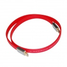 ULT-unite C7 HDMI 1.4 Male to Male Digital Audio / Video Flat Cable - Red (1m)