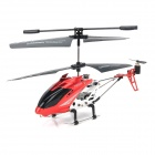HL8086 3.5-Channel Infrared Coaxial Helicopter Model - Red + Silver White + Black