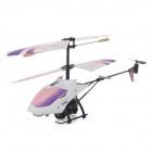 3.5-CH 2.4GHz Radio Control R/C Helicopter w/ Gyro - White + Purple + Pink