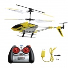 Rechargeable 3.5-CH Stylish IR R/C Helicopter - Yellow