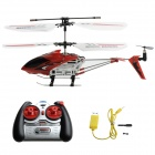 Rechargeable 3.5-CH Stylish IR R/C Helicopter - Red