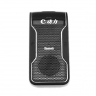 2.4GHz Bluetooth V2.1 Rechargeable Hands-Free Car Kit - Black