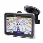 "5"" Resistive Screen WinCE 6.0 MT3551 GPS Navigator w/ 4GB TF Card - Black (Brazil + Argentina Maps)"