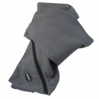 H-X01 Warming Storage Casual Scarf - Grey