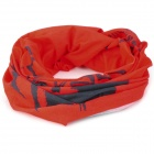 Naturehike 25 Multifunction Outdoor Sports Bicycle Cycling Seamless Head Scarf - Red + Black