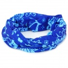 Naturehike 63 Multifunction Outdoor Sports Bicycle Cycling Seamless Head Scarf - Blue