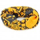 Naturehike 52 Multifunction Outdoor Sports Bicycle Cycling Seamless Head Scarf - Yellow + Black