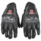SCOYCO MC09 Full-Fingers Motorcycle Racing Gloves - Black (Size L)