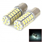11571210-68W 1157 4.5W 250lm 68-SMD 3528 LED White Light Car Light - (DC 12V / 2 PCS)