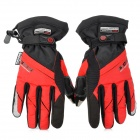 SCOYCO MC18 Waterproof Kapazitive Screen Touch Motorcycle Racing Handschuhe - Schwarz + Rot (Größe XL)